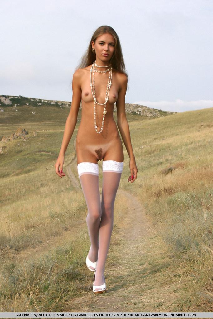 Фото очень худых девушек голых